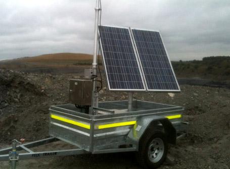 Solar Powered Telemetry Stations