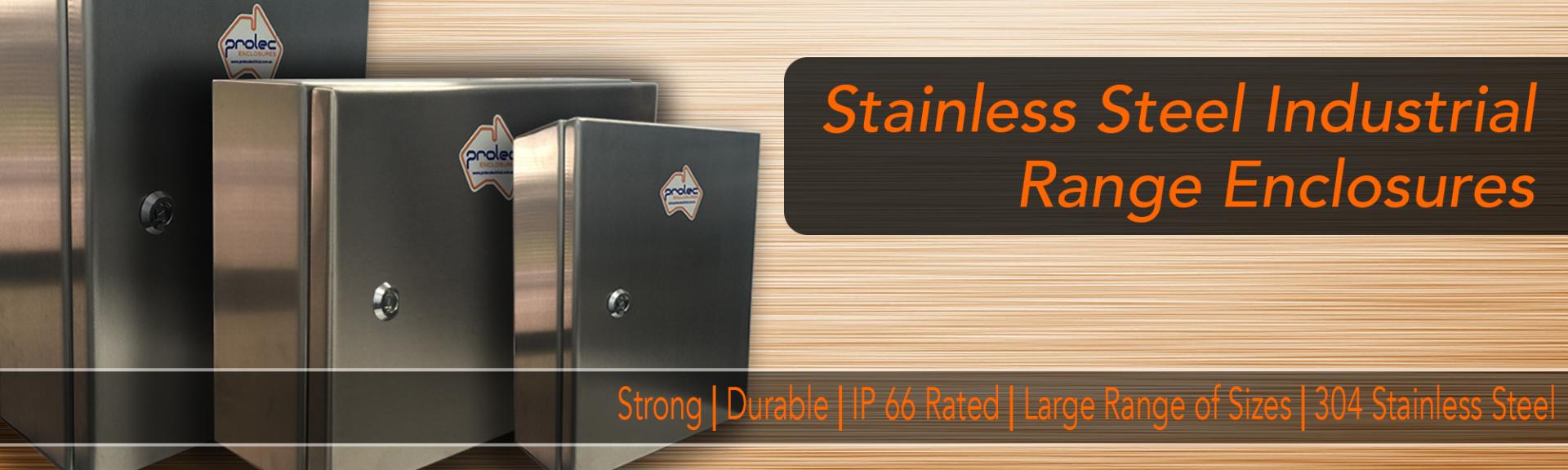 Standard Stainless Steel Enclosures Prolec Australia