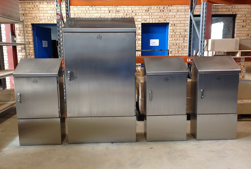 316 Marine Grade Stainless Steel Enclosures