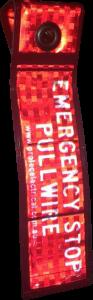 Conveyor Emergency Stop Lanyard Label