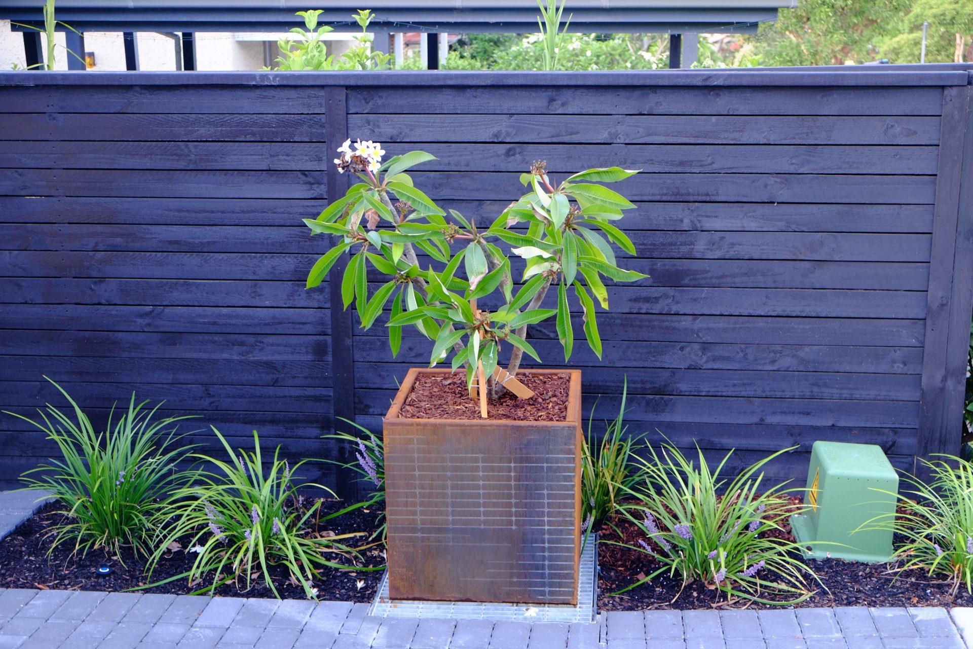 Corten Steel Planter Box Prolec Australia