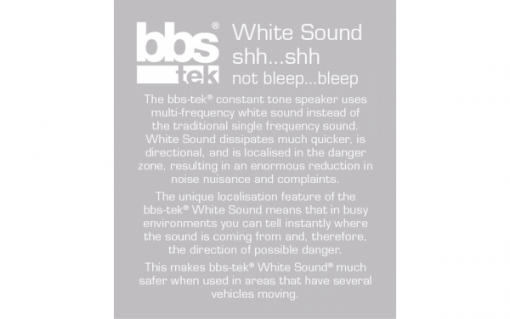 BBS TEK white sound